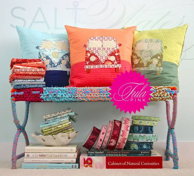 #cushions by tula pink
