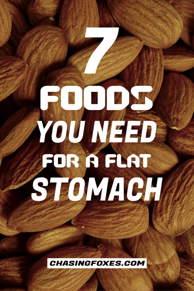7 Foods That'll Help You Get a Flat Stomach in 2020 Flat