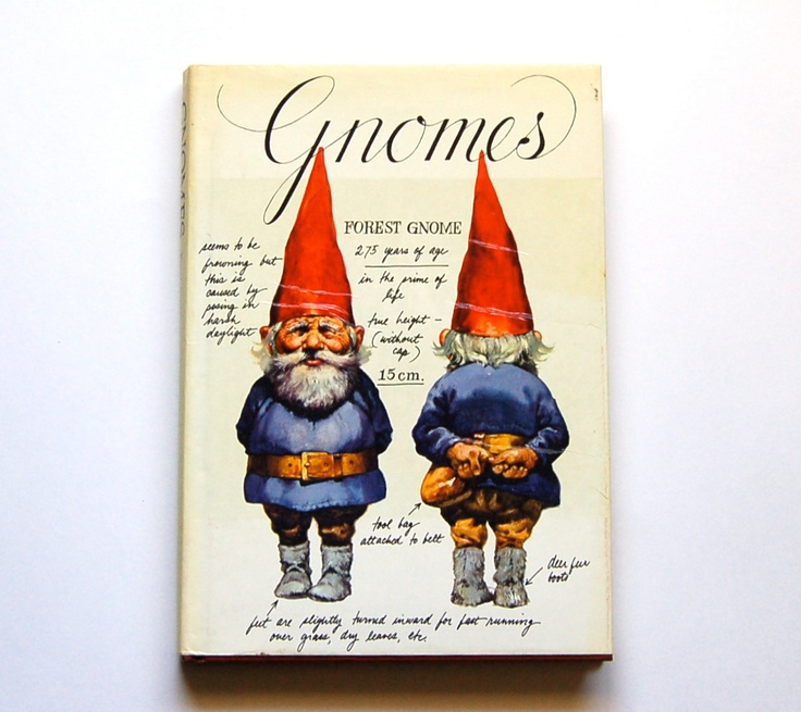:: Vintage Gnomes Book ::: Rien Poortvliet, Nuygen Gnomes, Gift Ideas, Live Gnomes, Gnomes Book, Vintage Gnomes, Gnomes Hardback, Bedroom, Grandmother