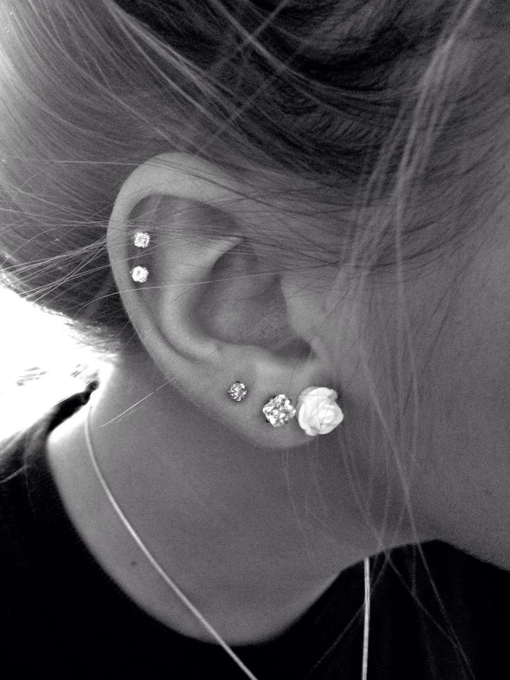 Comment below if you have your ears pierced more than one time! I have mine done twice! :)