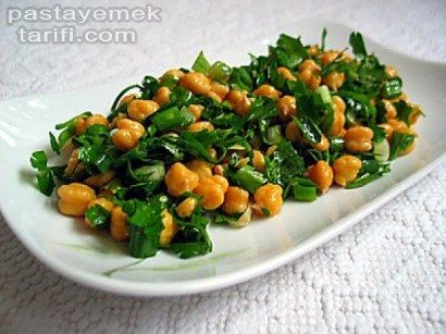 Nohut Salatası Tarifi Resimli Salata Tarifleri tarifi