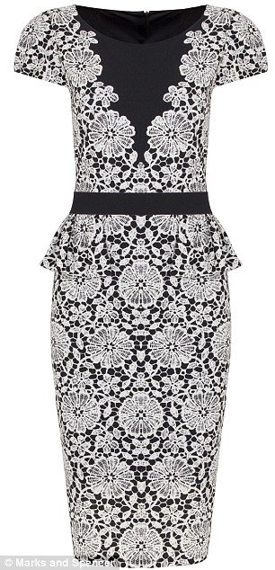 lace marks and spencer dress