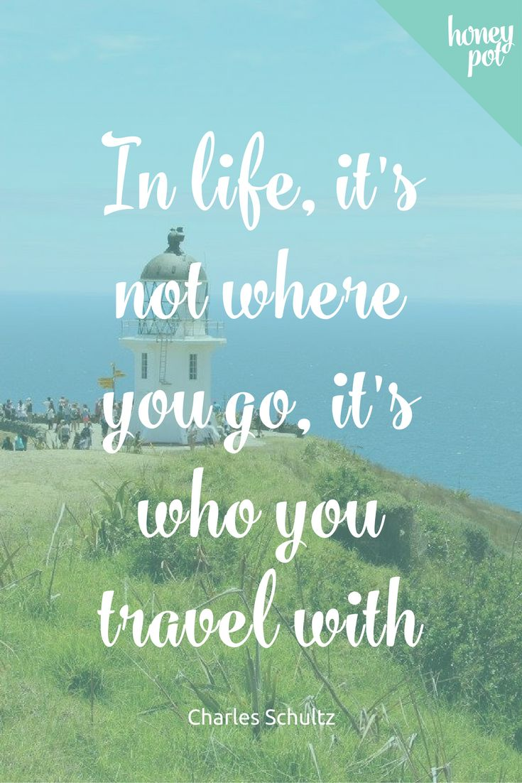 One of our favourite travel quotes! Travel is made so much sweeter when you do it with someone you love. That's why we love honeymoons so much!