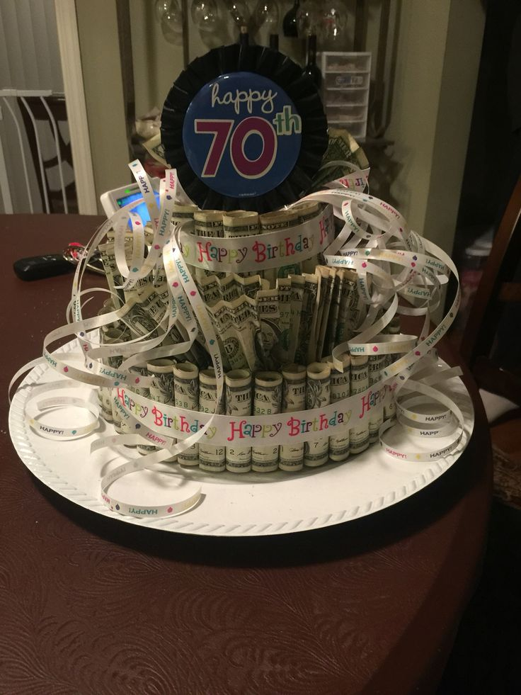 Money Cake With Dollar Bills Gift Ideas Money Cake