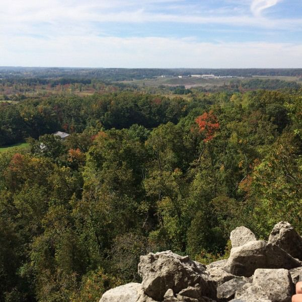 Trails and lookout points in Ontario's Greenbelt