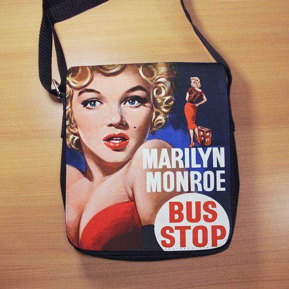 Marilyn Monroe Bus Stop Film Shoulder Bag  Small by RegalosOnline