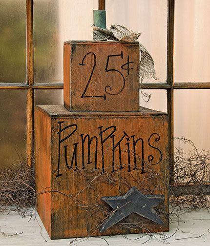 KP Creek Gifts - Pumpkins 25¢ Short Stack