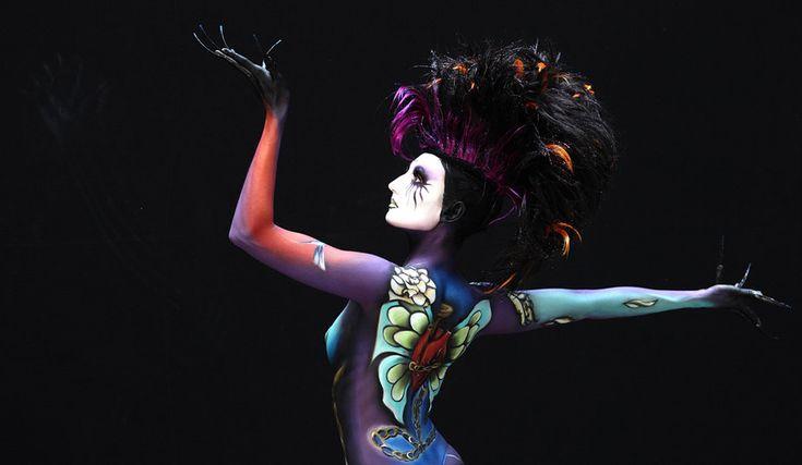 Εικόνες από το μεγαλύτερο φεστιβάλ Bodypainting στον κόσμο   ΜΕΓΑΛΕΣ ΕΙΚΟΝΕΣ   LiFO