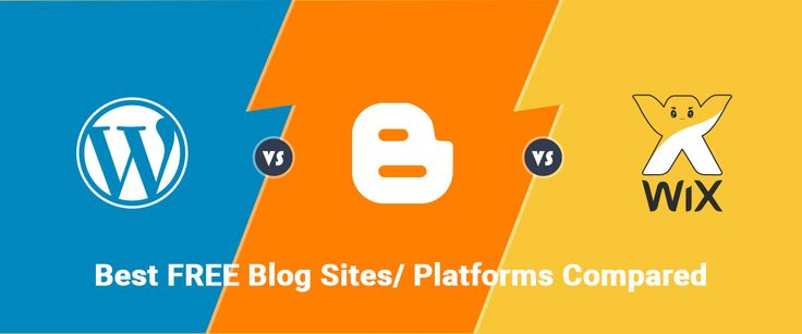 If you are looking for a free blogging platform to start a new blog, WordPress, Blogger and Wix may be the best options. This post compares the best free blog sites for the blog beginners.