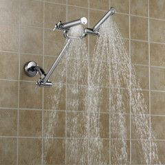 The Dual Spray Showerhead.