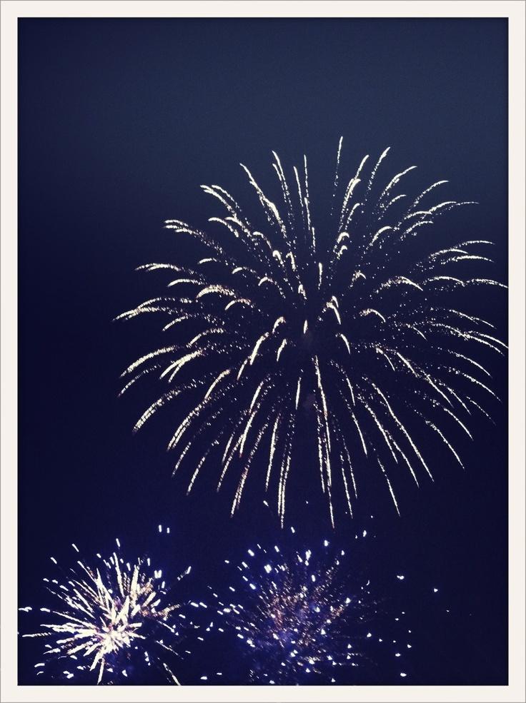 ** fireworks! **