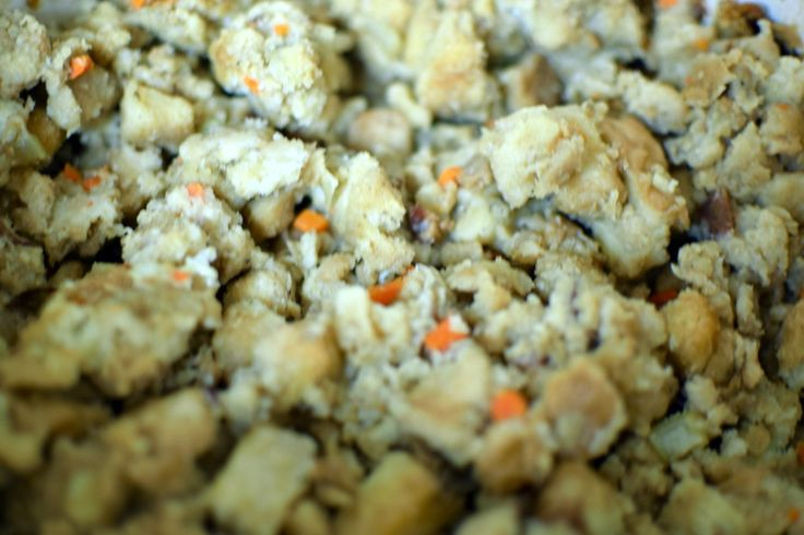 Easy Slow Cooker Turkey Stuffing