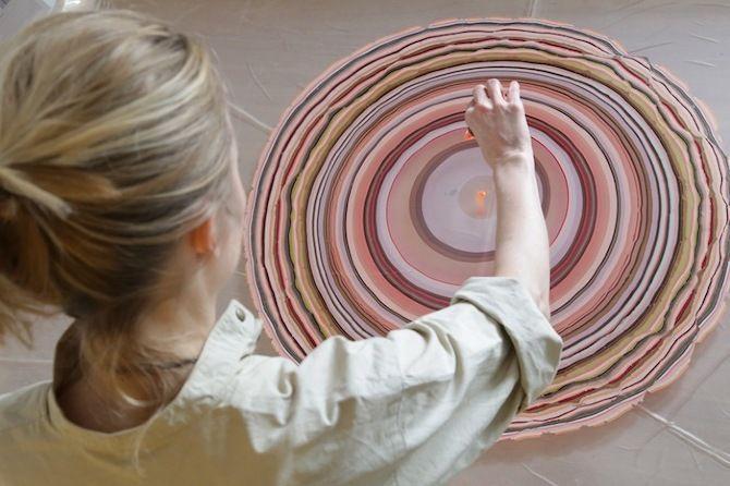 23 best marblizing images on Pinterest Book binding, Flooring and - bunte hocker designs streichen technik