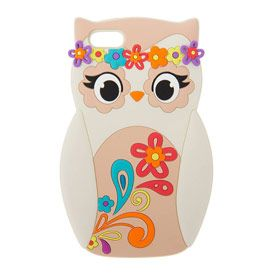 Floral Festival Owl Phone Case - iPhone 5C