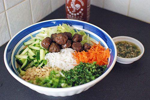 Vietnamese Bun - Vietnamese Xiu Mai Bun | Taste for Adventure - Unusual, Unique & Downright Awesome Recipes