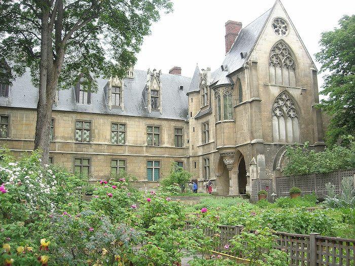 Le jardin médiéval de Cluny - Paris 6e