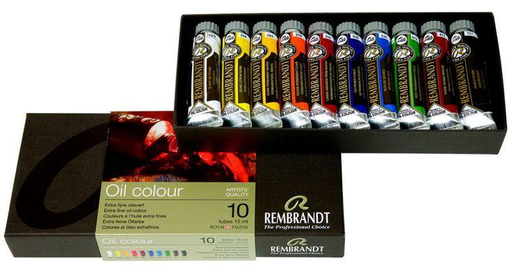 Σετ λαδοχρωμάτων Rembrandt https://www.art-colour.gr/zografiki/xromata/ladoxromata/ladoxromata-talens/10-rembrandt-15ml.html  #oilcolour #colours #painting #rembrandt #talens