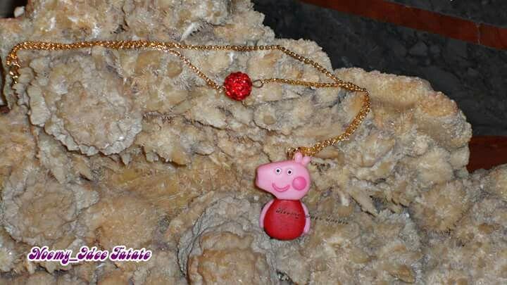 Peppa pig polymer clay