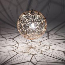 Modern Tom Dixon Etch web Pendant Light Suspension Lamp Dining room Bedroom Living room Lighting(China (Mainland))