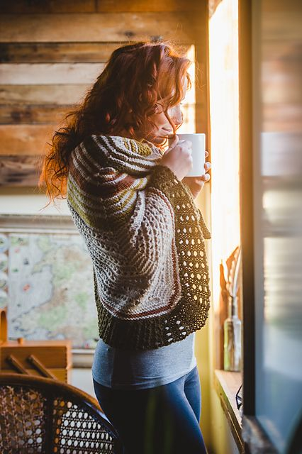 Ravelry: Hudson pattern by Shannon Cook from book Within: Knitting Patterns to Warm the Soul by Shannon Cook & Jane Richmond #withinknits #hudsonshawl
