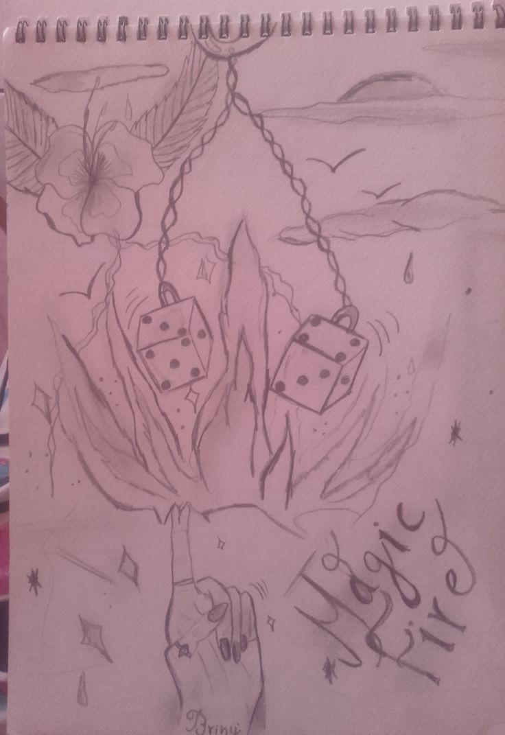 Magic fire drawing  ~ ? ~