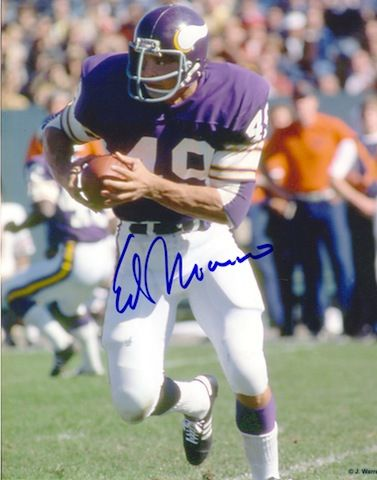 Autographed Ed Marinaro Minnesota Vikings 8x10 Photo