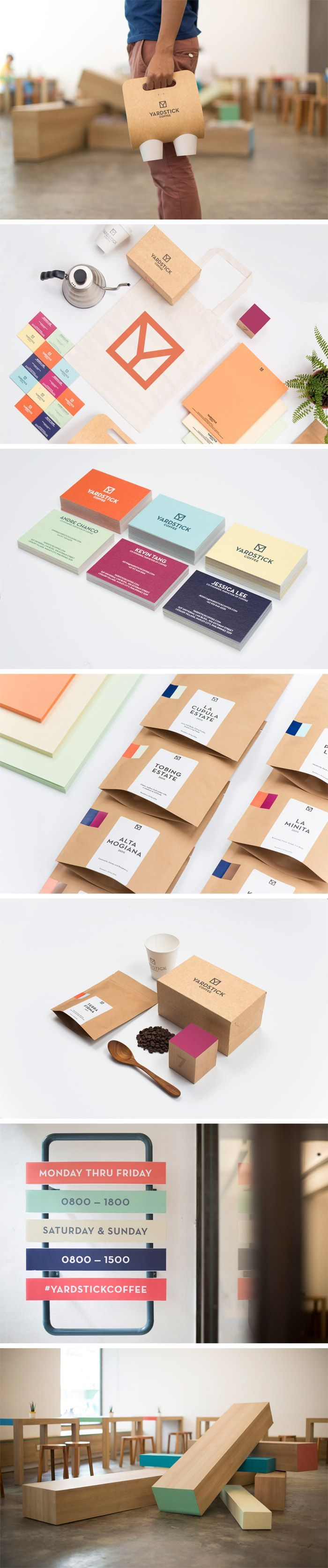 Yardstick Coffee (Branding)