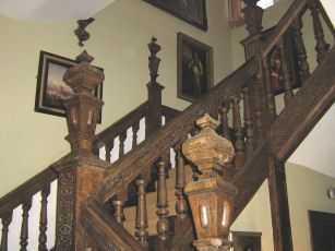 Staircase at Plas Teg Estate Scotland