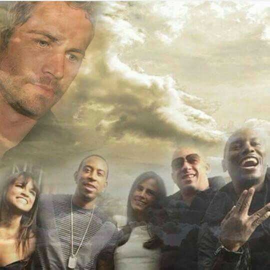Again we did it!! Congratulations to fast family, the best team forever.. Furious 7 won best film and best action movie in People's choice awards 2016. Paul Walker looking down proud at his extended family...