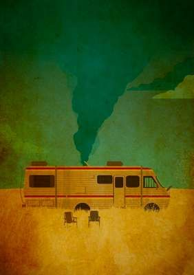 This Cooking Bad Print by Danny Haas Puts a Twist on the Title Breaking Bad trendhunter.com