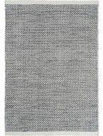 Tappeto di lana Asko Bianco & Nero
