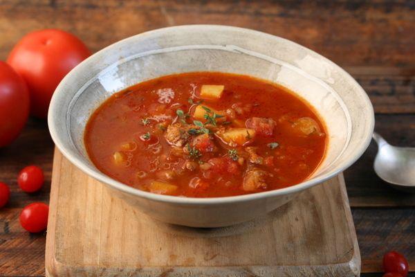 Tomato Bredie Soup