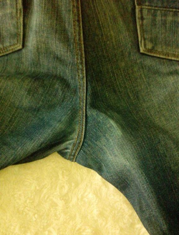 Шитьё. И джинсы, как новые... Очень полезный мастер-класс!