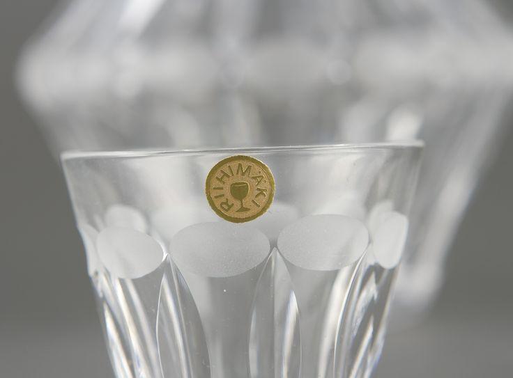 Hagelstam & Co | Karahvi ja laseja, 6 kpl - Kuukausihuutokauppa A165 - Päättyneet huutokaupat