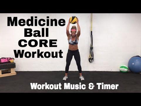 Medicine Ball Home Workout, Medicine Ball Ideas, Exercises, Ab Workout – YouTube