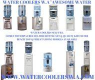 WATER COOLER PLATNUIM BENCHTOP HOT/COOL & COLD SELF FILL