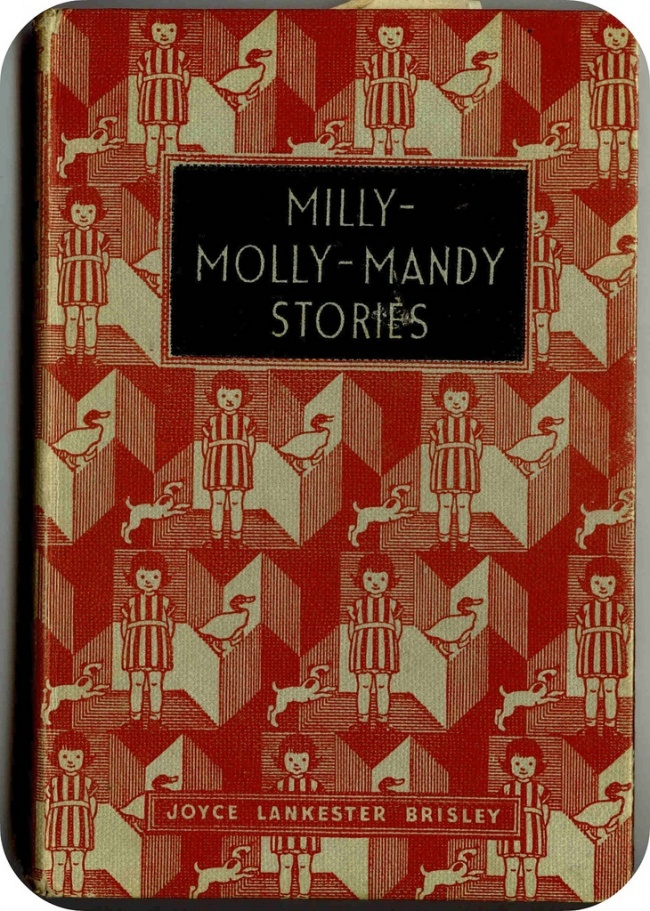 It's the cover, I know, but I'm sure I remember this from the school library, and the endpapers looked just the same.