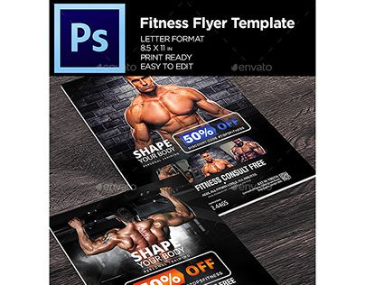 "Check out new work on my @Behance portfolio: ""Fitness Flyer - Gym Business Flyer Template"" http://be.net/gallery/57477531/Fitness-Flyer-Gym-Business-Flyer-Template"