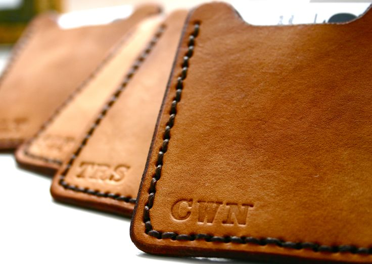 Personalized groomsmen gifts. Engraved wallets