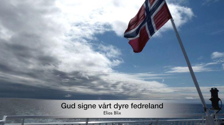 Gud signe vårt dyre fedreland. Mandskoret med Gud signe vårt dyre fedreland, av Elias Blix. Salmen blir ofte omtalt som Norges nasjonalsalme. Du finner denne på vår YouTube kanal  https://www.youtube.com/watch?v=sJC0Za6CHr0