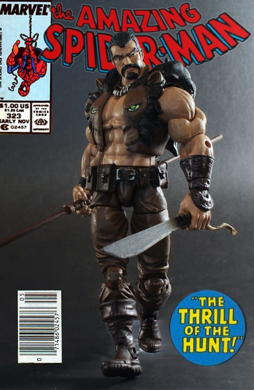 Kraven (Marvel Legends) Custom Action Figure