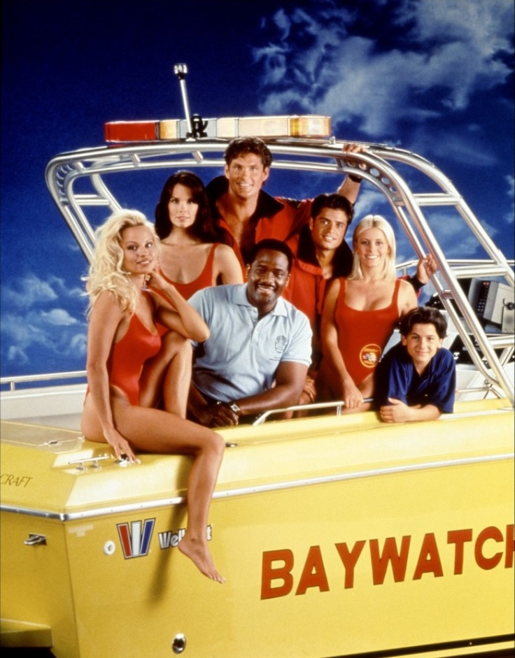 """""""Baywatch"""". You watched it, admit it. I loved it."""
