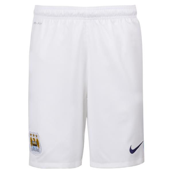 Manchester City Home Shorts 2013/14  曼城主場短褲2013/14  US$35.80