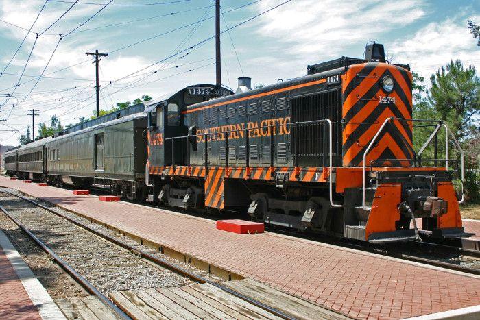 5. Orange Empire Railway Museum in Perris