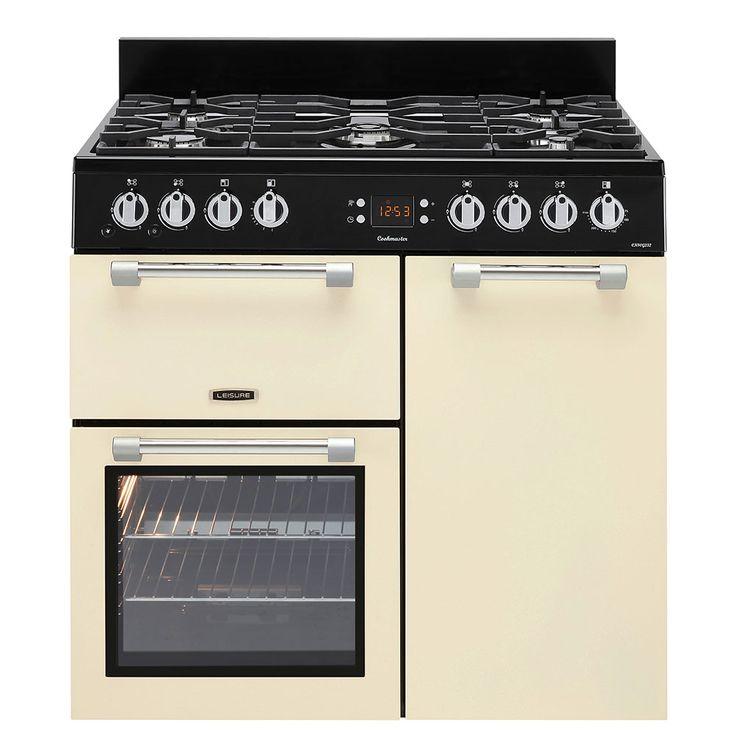Leisure Cookmaster Gas Range cooker Cream CK90G232C 90cm