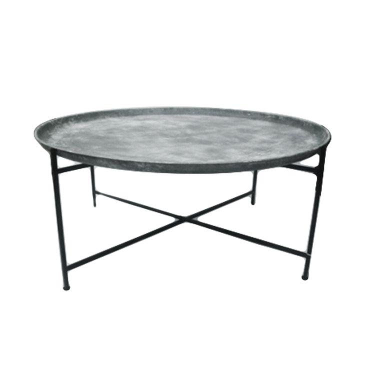 Flott rustikk metall bord fra IO Scandinavia. For mer info og bestilling: www.krogh-design.no