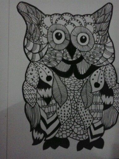 Owl,drawing pen,conector pen