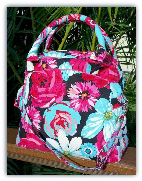 The Wayfarer Travel Bag PDF Sewing Pattern