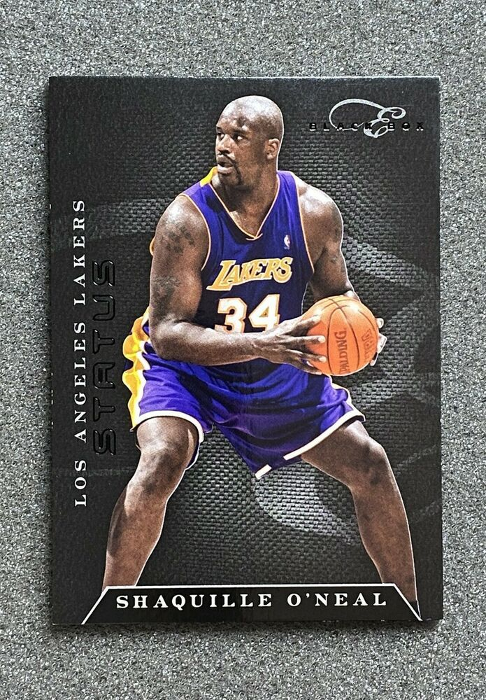 2010 11 Elite Black Box 110 Shaquille O Neal Sn 99 Los Angeles Lakers Ebay In 2020 Shaquille O Neal Los Angeles Lakers Lakers