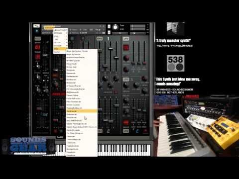 System 1000M Modular Kontakt synth review - YouTube